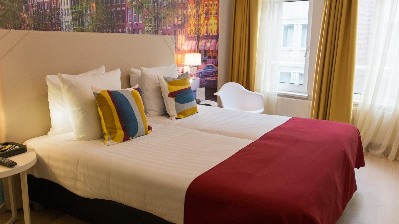 Comfort double Room - France Hotel Amsterdam