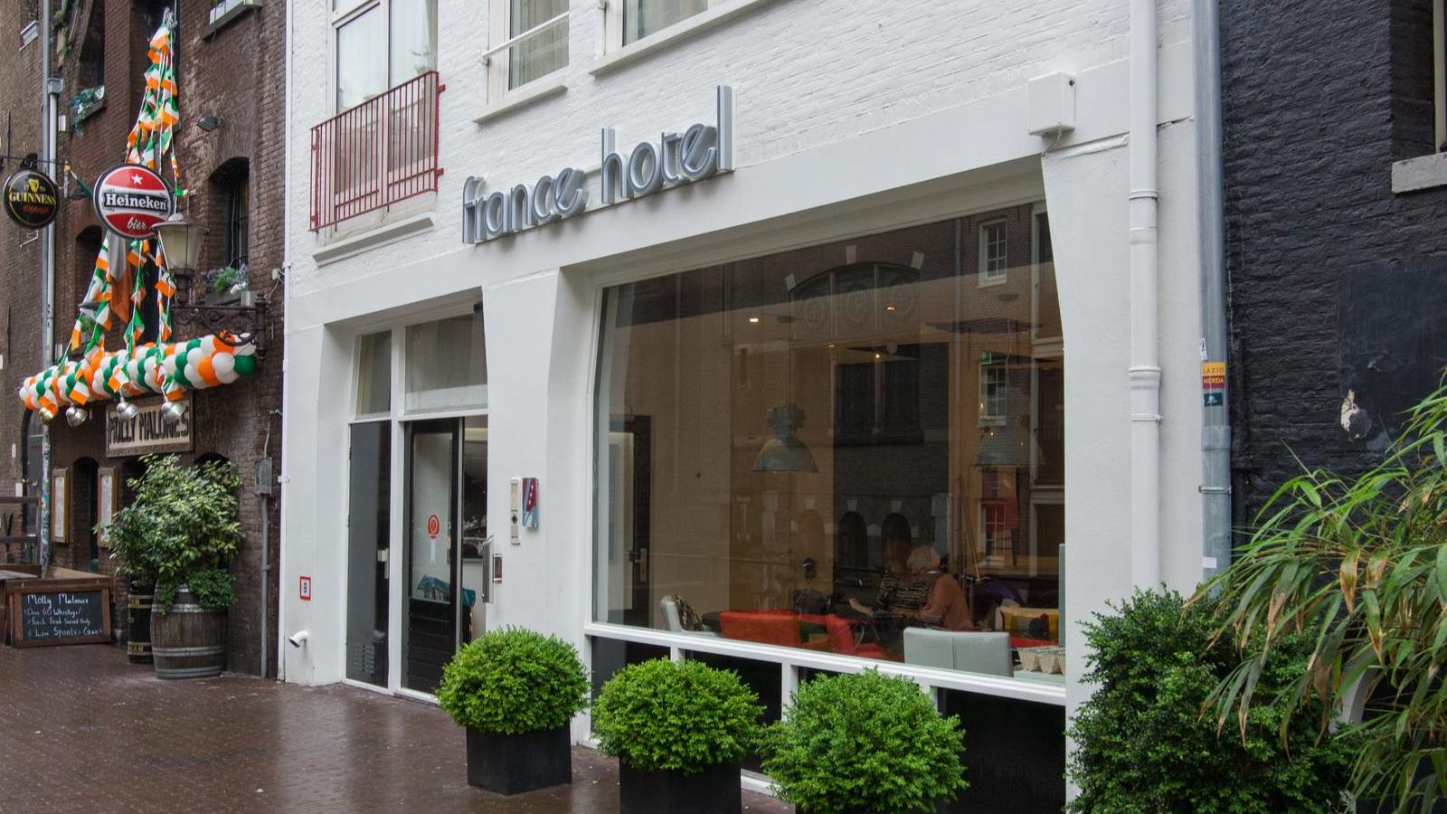 Entrence France Hotel Amsterdam